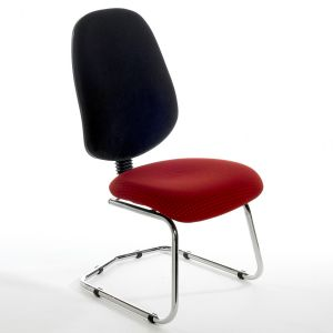 C/BIMPC Chrome Frame Meeting Chair