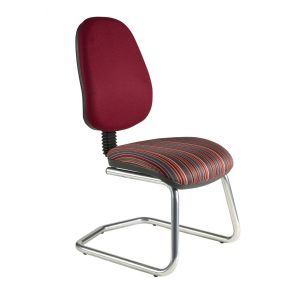C-HIMPC Chrome Frame Meeting Chair