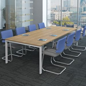 iBench Modern Golapost Leg Table