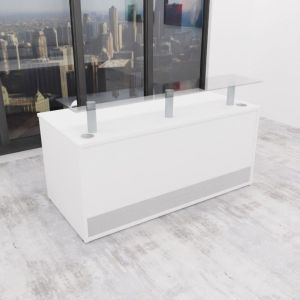 1600mm Counter 01 Receptive Straight