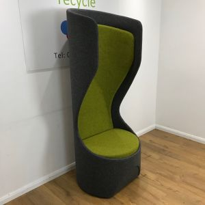 Frovi Green Preloved Hide Single Seat Pod