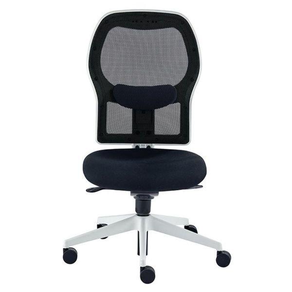 Modern Black Alize White Frame Office Chair