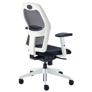 Operator White Frame Alize Chair