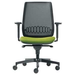 Modern Black Base Mesh Back Aliso Chair