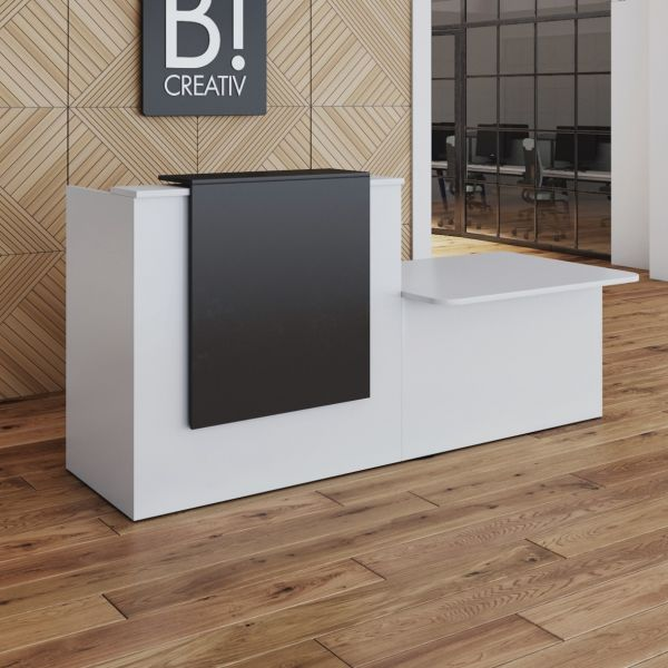 Allure New Reception Counter With DDA And Overhang