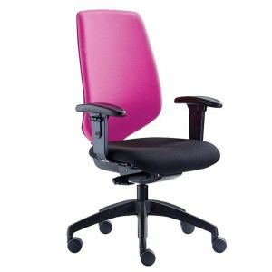 Black Base Duce Chair High Back New