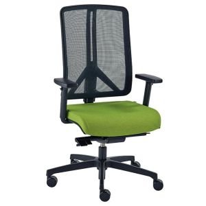 Ergonomic New Black Mesh Back Halo Chair