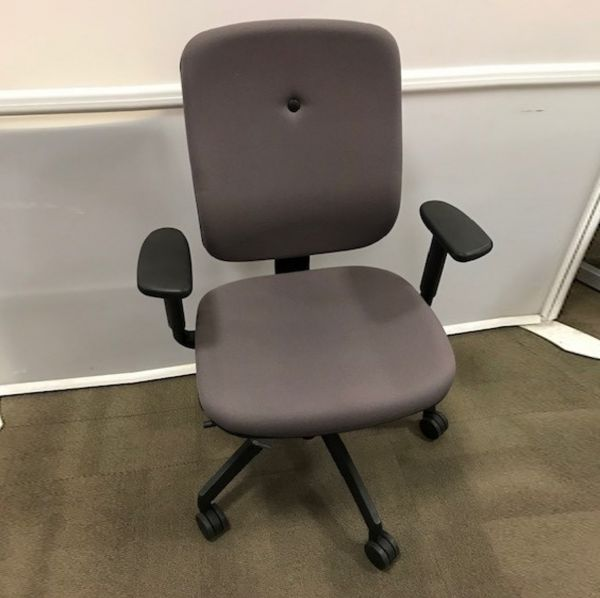 Ergonomic Second Hand Connection My Grey Chair