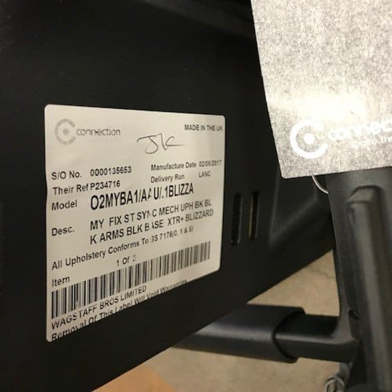 Connection My Grey Operator Chair