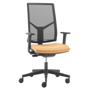 Black Base Mesh Bcak Stratus Operator Chair