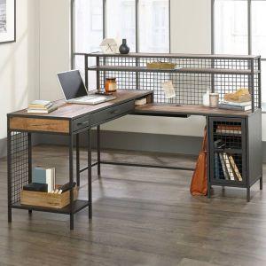 Boulevard Cafe L-Shaped New Desk