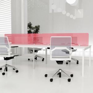 Florence Straight Desk Mounted Acrylic Screens