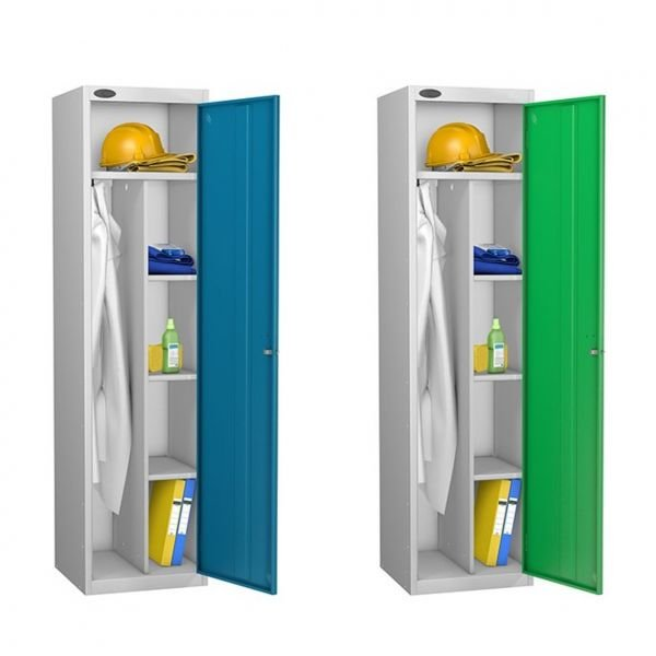 Clean & Dirty Uniform & Janitors Lockers
