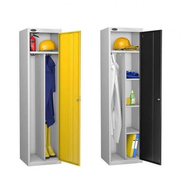 Lockers Janitors & Uniform Dirty & Clean