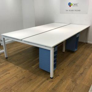 used herman miller bench desk