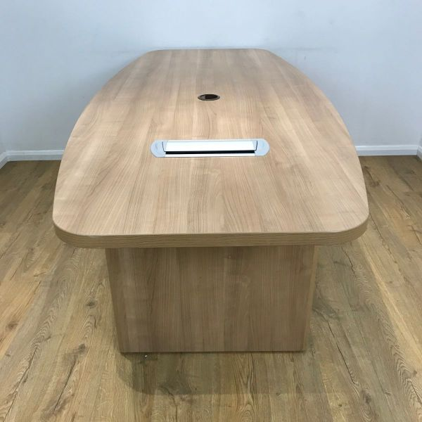 Preloved 2200mm Boatshaped Santiago Cherry Table