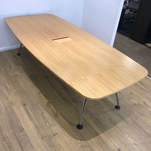 Used Boatshaped 2600mm Vitra Table