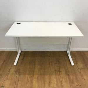 used straight desk