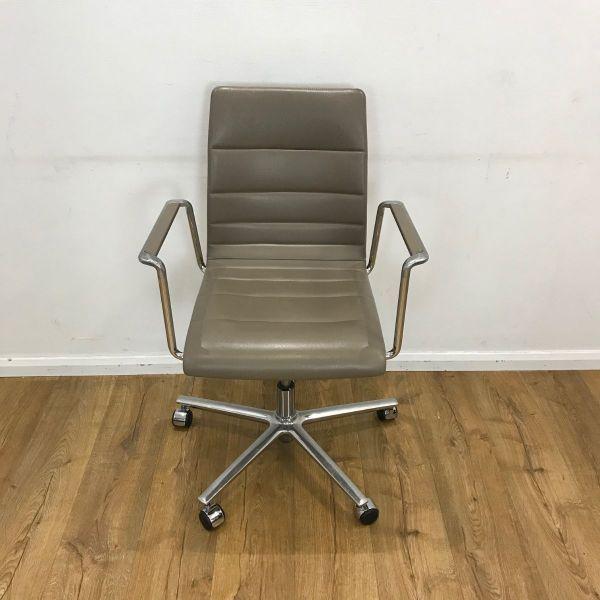 tan used brunner chair