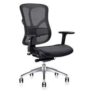 F-form mesh chair