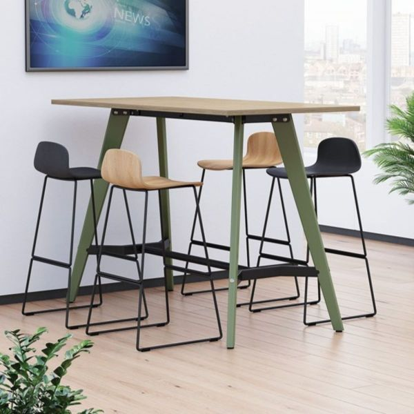 Evolve Poseur Rectangular Table