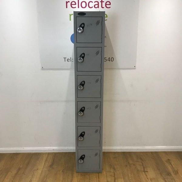 Probe Grey Combination Locker