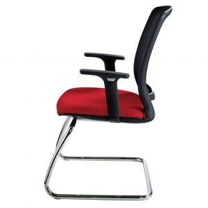 Zonda Mesh Cantilever Meeting Chair