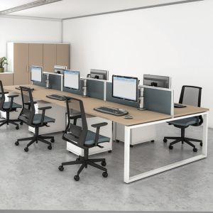 iBench Hoop Leg Desks