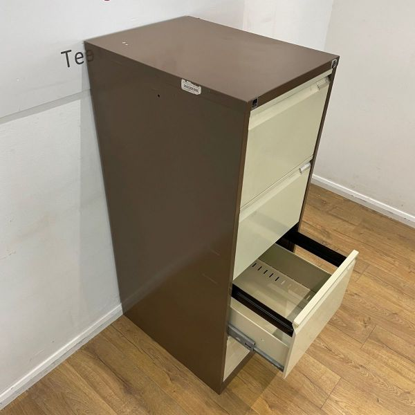 coffee and cream filing cabinet
