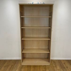 Maple used bookcase