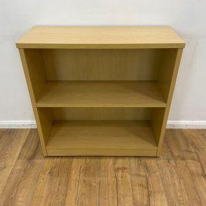 stone oak bookcase used
