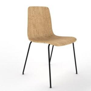 Almond canteen chair