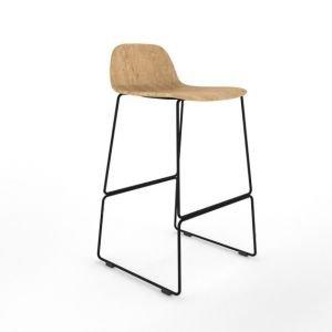 Almond high stool