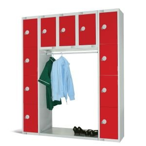 Cloakroom lockers