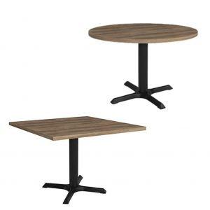 circular & square reception table