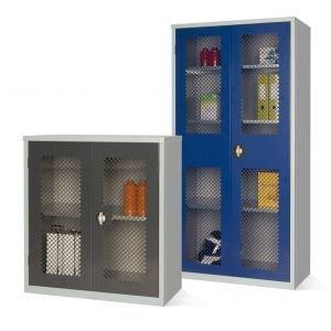 Mesh Stock Control Cupboards